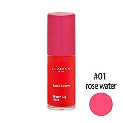 クラランス CLARINS ウォーターリップ ステイン 7mL 01 rose water (在庫) [並行輸入品]