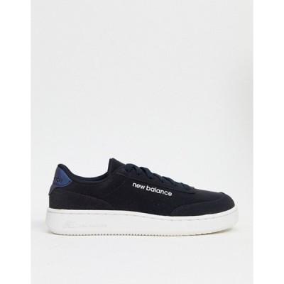 ニューバランス レディース スニーカー シューズ New Balance CTALY cosmic sneakers in black
