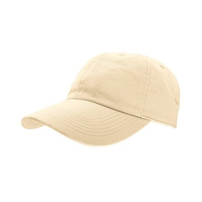 Gelante Baseball Caps Dad Hats 100% Cotton Polo Style Plain Blank Adjustable Size. 1806-Putty