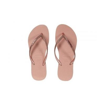 Havaianas ハワイアナス レディース 女性用 シューズ 靴 サンダル Slim Glitter Flip-Flop - Crocus Rose