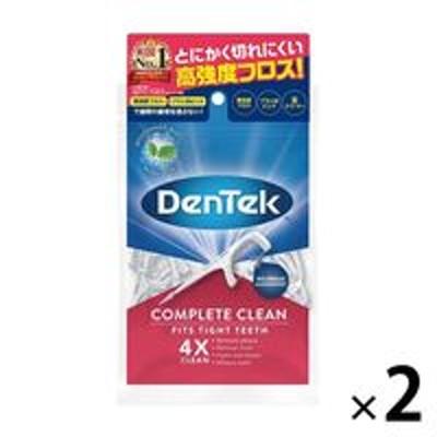 Prestige Consumer HealthcareDENTEK(デンテック) コンプリートクリーンフロスピック 75本入 1セット(2袋) ピルボックスジャパン デンタルフロス