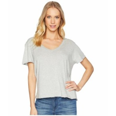 Michael Stars マイケルスターズ 服 一般 Ultra Jersey Cropped V-Neck Tee