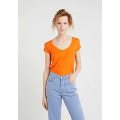 DRYKORN レディーストップス DRYKORN AVIVI - Basic T-shirt - bright oran