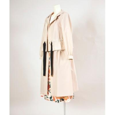 Dear Princess ONLINE SHOP / エクセルテック 2wayコートジャケット WOMEN ジャケット/アウター > ステンカラーコート