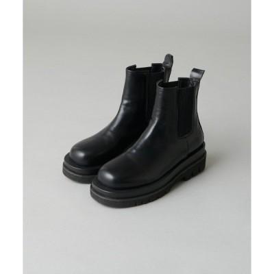 ブーツ サイドゴアショートブーツ