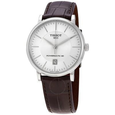 ティソ/TISSOT メンズ 腕時計 Carson Premium Automatic Silver Dial Men's Watch T1224071603100