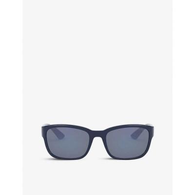プラダ PRADA LINEA ROSSA レディース メガネ・サングラス PS 05VS rectangle-frame sunglasses BLUE
