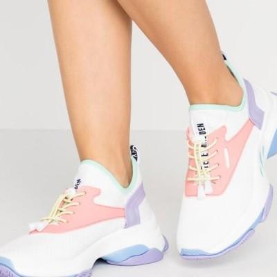 スティーブマデン レディース 靴 シューズ MATCH - Trainers - white/pink