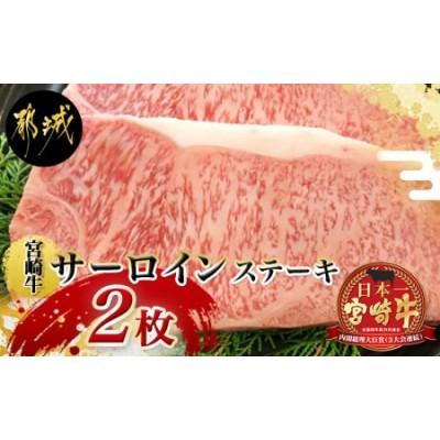 宮崎牛サーロインステーキ220g×2枚_MA-2411