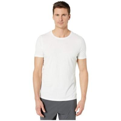 パクト PACT メンズ Tシャツ トップス Organic Cotton Featherweight Crew Neck Tee White