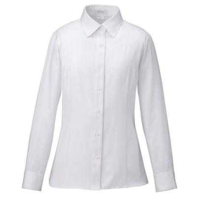 KARSEE カーシーカシマ シャツブラウス(長袖)EWB-592 11 ホワイト 作業服 ユニフォーム オフィスウェア 事務服