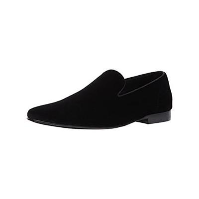Steve Madden mens Laight Slip On Loafer, Black Velvet, 11.5 US