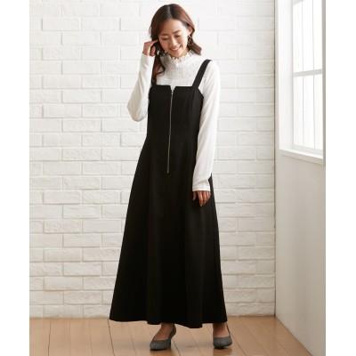 大きいサイズ ジャンパースカートワンピース ,スマイルランド, ワンピース, plus size dress