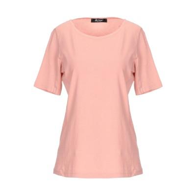 LA ROSE T シャツ パステルピンク 42 コットン 100% T シャツ