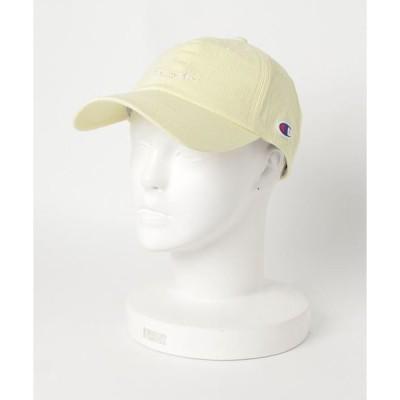 帽子 キャップ CHAMPION チャンピオン ロー キャップ 181-0078-lyellow