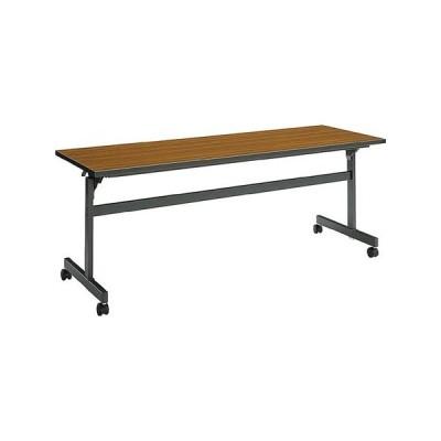 コクヨ   会議 ミーティング用テーブル KT-60シリーズ 天板フラップ式 棚付き 幅1200×奥行き450MM 天板カラー R