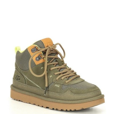 アグ レディース スニーカー シューズ UGG Highland Suede Hi Heritage Lace-Up Sneakers Burnt Olive