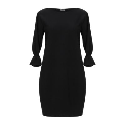 FRACOMINA ミニワンピース&ドレス ブラック S ポリエステル 95% / ポリウレタン 5% ミニワンピース&ドレス