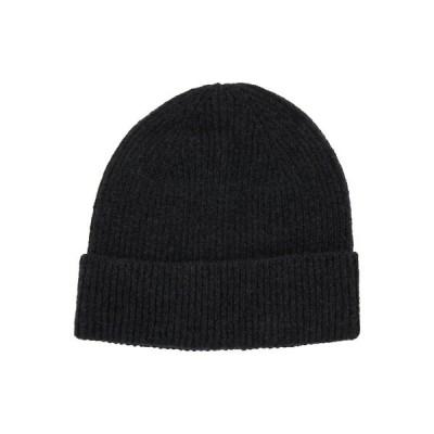 ジン 帽子 レディース アクセサリー Beanie - black