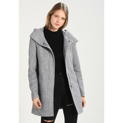 ヴェロモーダ コート レディース アウター VMVERODONA - Short coat - light grey melange