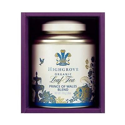 セット商品 ハイグローヴ HIGHGROVE LONDON 紅茶 ティー 紅茶 オーガニックプリンスオブウェールズブレンド110g + 国産