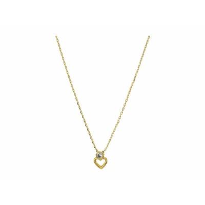 ケイト スペード ネックレス・チョーカー・ペンダントトップ アクセサリー レディース Shining Spade Pendant Necklace Clear/Gold