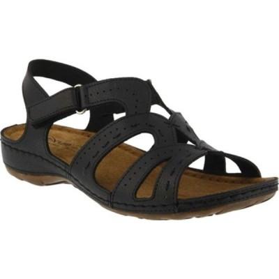 フレクサス サンダル シューズ レディース Sambai Strappy Sandal (Women's) Black
