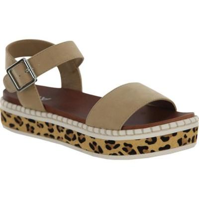 ミア MIA レディース サンダル・ミュール シューズ・靴 Dillan Natural/Leopard