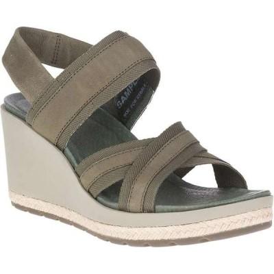 メレル レディース サンダル シューズ Merrell Women's Kaiteri Wedge Strap Sandal