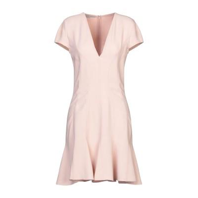 ステラ マッカートニー STELLA McCARTNEY ミニワンピース&ドレス ピンク 44 レーヨン 64% / アセテート 32% / ポリウ