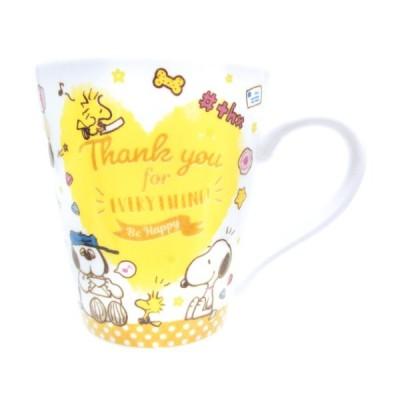 スヌーピー マグカップ メッセージ マグ サンキュー ピーナッツ マリモクラフト ギフトマグ 食器