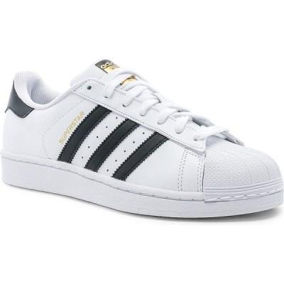 アディダス adidas Originals メンズ シューズ・靴 Superstar Foundation White/Black/White