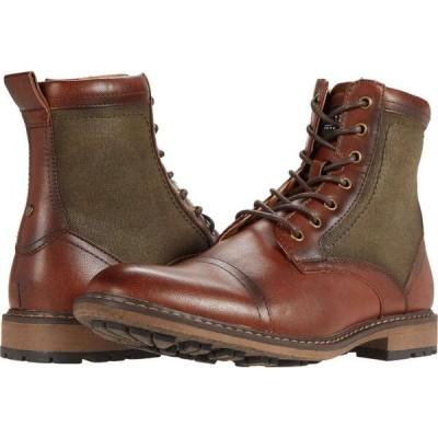 スティーブ マデン Steve Madden メンズ ブーツ レースアップ シューズ・靴 Bunsin Lace-Up Boot Cognac