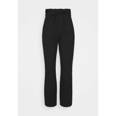 オンリー レディース カジュアルパンツ ボトムス ONLKIRAS LIFE PANTS - Trousers - black black