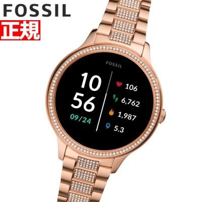 店内ポイント最大26倍!フォッシル FOSSIL スマートウォッチ 腕時計 レディース FTW6072
