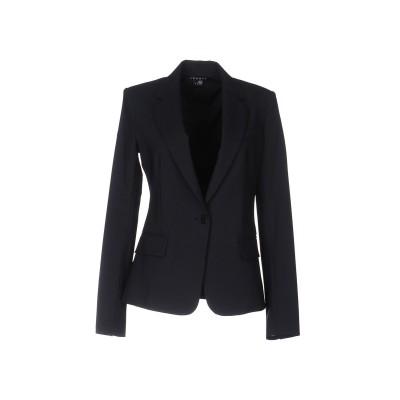 セオリー THEORY テーラードジャケット ダークブルー 12 バージンウール 97% / ポリウレタン 3% テーラードジャケット