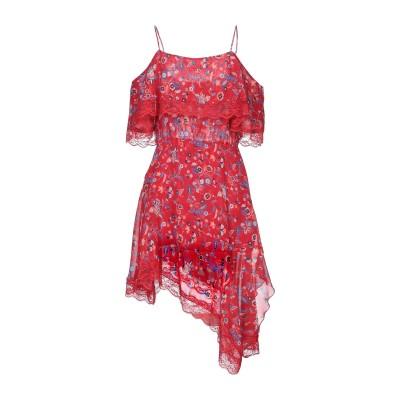 リュー ジョー LIU •JO ミニワンピース&ドレス レッド 42 ポリエステル 100% / ナイロン ミニワンピース&ドレス