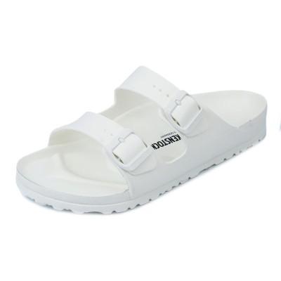 BIRKENSTOCK ビルケンシュトック サンダル 129443 ARIZONA アリゾナ レディース 女性 幅狭タイプ EVA素材 WHITE ホワイト 36-40 靴 シューズ【送料無料 並行輸
