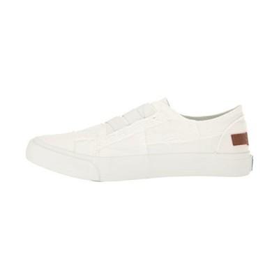 Blowfish Women's Marley Canvas White Ankle-High Fashion Sneaker - 7.5M