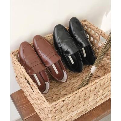 cherryville レディース ローファー Simple classic mood loafers
