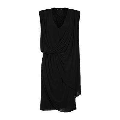 MARCIANO ミニワンピース&ドレス ブラック 42 レーヨン 95% / ポリウレタン 5% ミニワンピース&ドレス