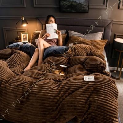 フランネル 寝具カバー 布団カバー 冬用 防寒 単品 寒さ対策 毛布タッチ ベッドカバー 柔らかい 保温性 冷たくない 暖かい 柔らかい 滑らか サラサラ シングル