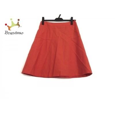 ニジュウサンク 23区 スカート サイズ38 M レディース オレンジ   スペシャル特価 20200527
