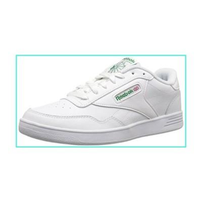 【新品】Reebok Men's Club MEMT Sneaker, White/Glen Green, 10.5(並行輸入品)