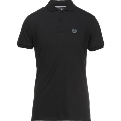 ピープルオブシブヤ PEOPLE OF SHIBUYA メンズ ポロシャツ トップス polo shirt Black