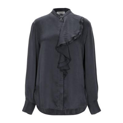 SLOWEAR シャツ スチールグレー 42 シルク 100% シャツ