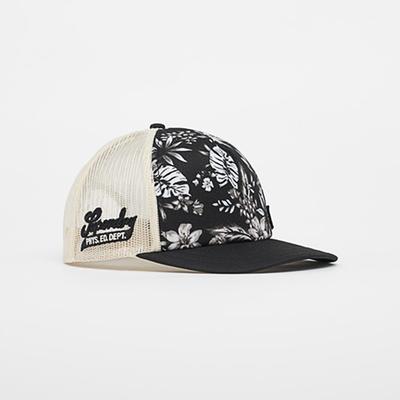 SUPERDRY 卡車帽 CALI PRINT 黑印花