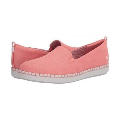 Clarks クラークス レディース 女性用 シューズ 靴 スニーカー 運動靴 Step Glow Slip - Coral Canvas 2