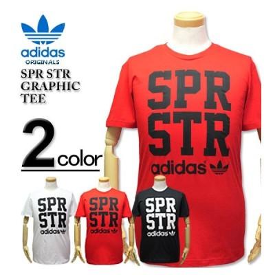 ★クリアランスセール★大きいサイズ メンズ adidas Originals(アディダス オリジナルス) SPR STR GRAPHIC Tシャツ 2XL【セール品のため返品交換不可】