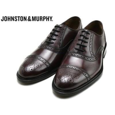ジョンストン&マーフィー ストレートチップ JOHNSTON&MURPHY DALEY CAP TOE BURGUNDY